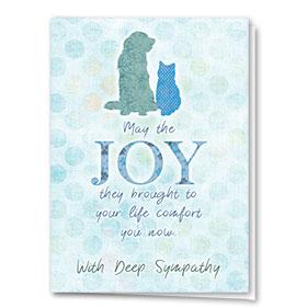Sympathy Card-Comfort and Joy