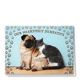 Sympathy Card-Friends Comfort