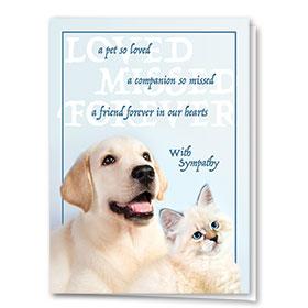 Sympathy Card-Enduring Love