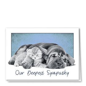 Sympathy Card-Heavy Hearts