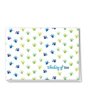 Sympathy Card-Peaceful Prints