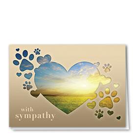 Pet Sympathy Cards - Sympathy Light