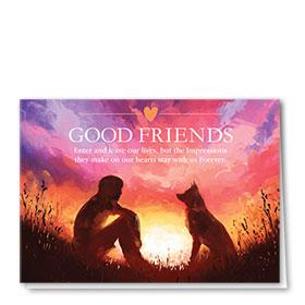 Dog Sympathy Cards - Sunset Impressions