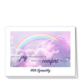 Pet Sympathy Cards - Clouds of Comfort