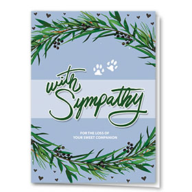 Pet Sympathy Cards - Ring of Sympathy
