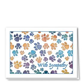 Pet Sympathy Cards - Soft Paws