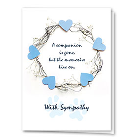 Pet Sympathy Cards - Sympathy Halo
