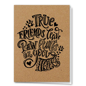 Pet Sympathy Cards - True Friends