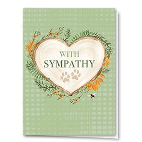 Pet Sympathy Cards - Woodsy Words