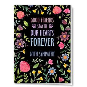 Pet Sympathy Cards - Forever Floral
