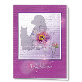 Premium Foil Pet Sympathy Cards - Love Letter