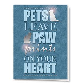 Premium Foil Pet Sympathy Cards - Lasting Mark