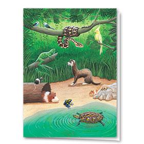 Multi Purpose Card-Jungle Book