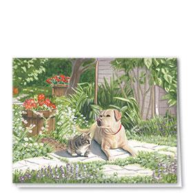 Multi Purpose Card-Serene Garden