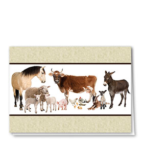 Multi-Purpose Veterinary Cards - On the Farm