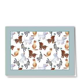 Multi-Purpose Veterinary Greeting Cards - Butterfly Kiss