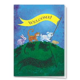 Veterinary Welcome Cards - Welcome Banner