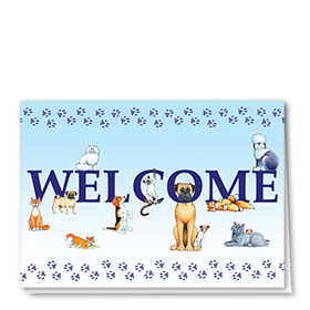 Veterinary Welcome Cards - Welcome Everyone
