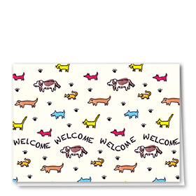 Welcome Card-Tiny Pets Welcome