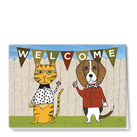 Veterinary Welcome Cards - Welcoming Committee