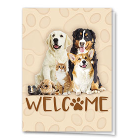 Veterinary Welcome Cards - Welcome Card