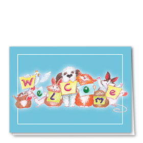 Veterinary Welcome Cards - Welcome Letters