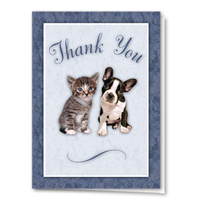 Veterinary Thank You Cards - Pets 1