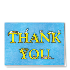 Veterinary Thank You Cards - Pets 2