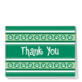 Veterinary Thank You Cards - Paws 2