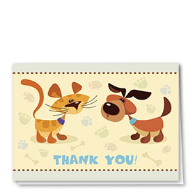 Veterinary Thank You Cards - Don't Forget