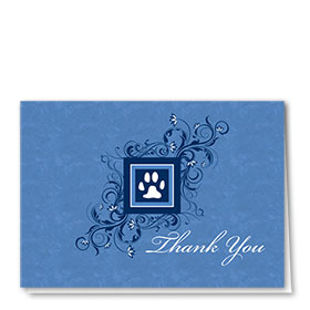 Veterinary Thank You Cards - Elegant