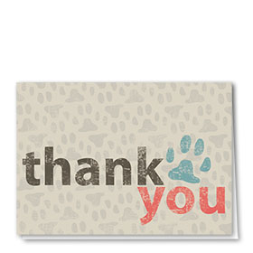 Veterinary Thank You Cards - Words of Thanks