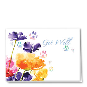 Pet Get Well Cards - Get Well Blooms