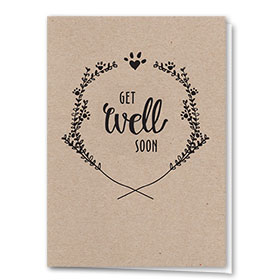 Pet Get Well Cards - Get Well Soon
