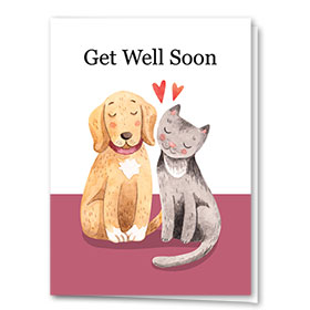 Pet Get Well Cards - Get Well Duo