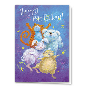 Pet Birthday Cards - It's A Party