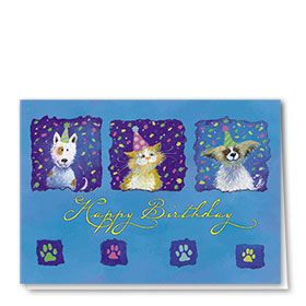 Pet Birthday Cards - Birthday Pals