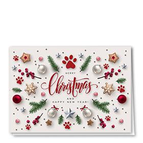 Veterinary Holiday Cards - Christmas Spread