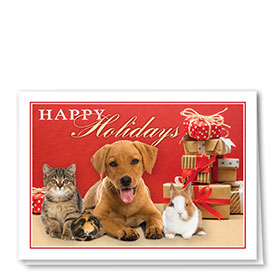 Veterinary Holiday Cards - Holiday Packages