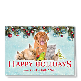 Veterinary Holiday Cards - Exotic Holidays
