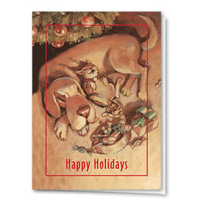 Veterinary Holiday Cards - Warm Glow