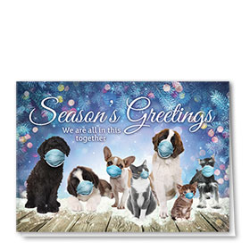 Veterinary Holiday Cards - In This Together