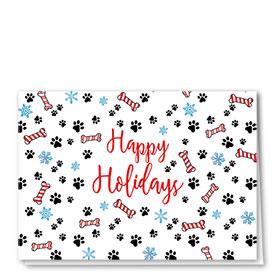 Veterinary Holiday Cards - Holiday Print