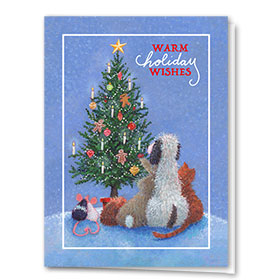Veterinary Holiday Cards - Furry Friends