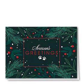 Veterinary Holiday Cards - Pine Greetings