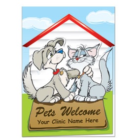 Veterinary Welcome Cards - Welcome Mat