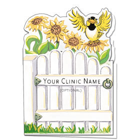 Veterinary Welcome Cards - Welcome Gate