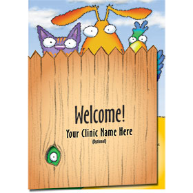 Veterinary Welcome Cards - Welcome All