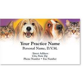 Business Card-Pet Family