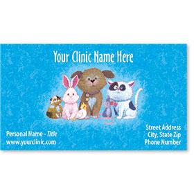 Business Card-Critter Print